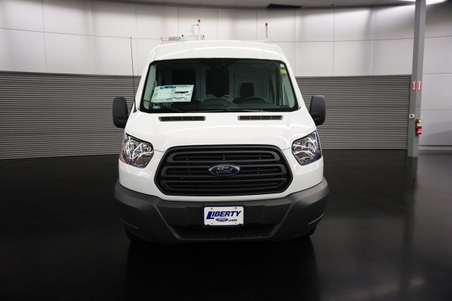 2018 Transit 250 Med Roof 4x2,  Weather Guard Upfitted Cargo Van #TW50032 - photo 4