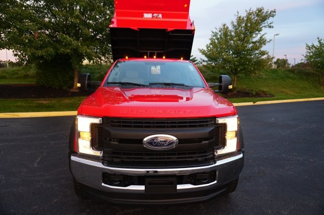2019 F-550 Regular Cab DRW 4x4,  Rugby Dump Body #TX50029 - photo 10