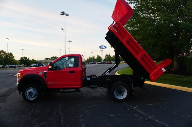 2019 F-550 Regular Cab DRW 4x4,  Rugby Dump Body #TX50029 - photo 3