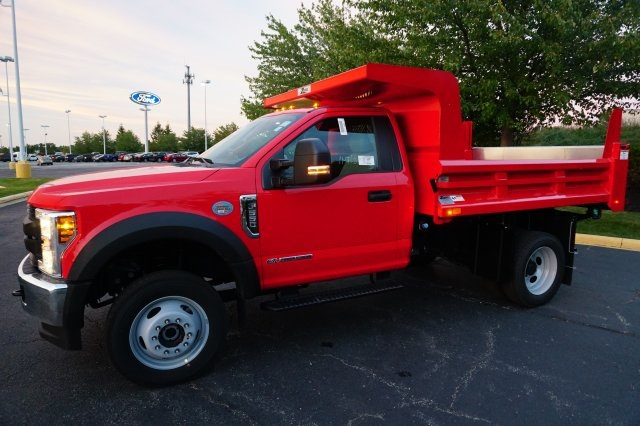 2019 F-550 Regular Cab DRW 4x4,  Rugby Dump Body #TX50029 - photo 21