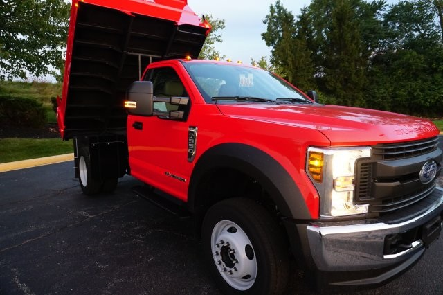 2019 F-550 Regular Cab DRW 4x4,  Rugby Dump Body #TX50029 - photo 9