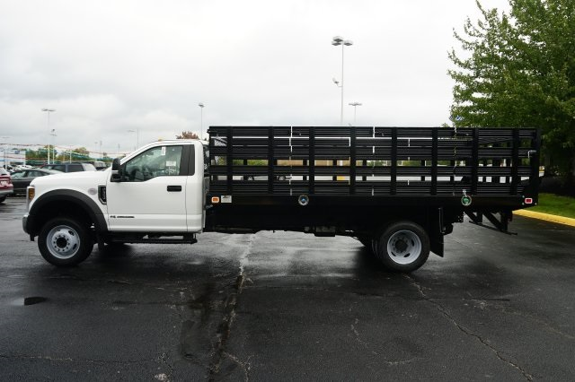 2019 F-550 Regular Cab DRW 4x2,  Knapheide Stake Bed #TX50042 - photo 3