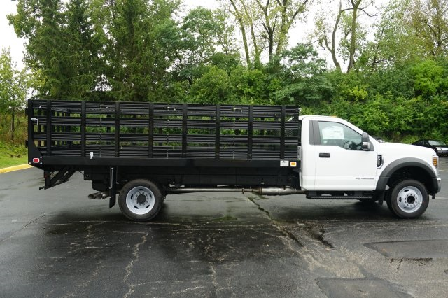 2019 F-550 Regular Cab DRW 4x2,  Knapheide Stake Bed #TX50042 - photo 7