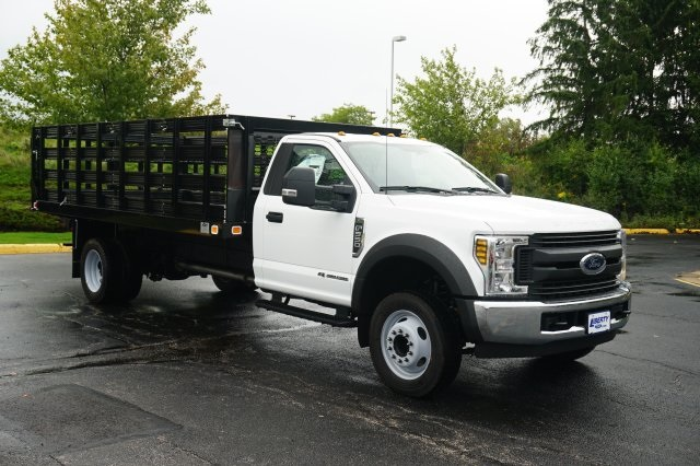 2019 F-550 Regular Cab DRW 4x2,  Knapheide Stake Bed #TX50042 - photo 8