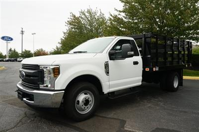 2019 F-350 Regular Cab DRW 4x2,  Knapheide Value-Master X Stake Bed #TX50066 - photo 1
