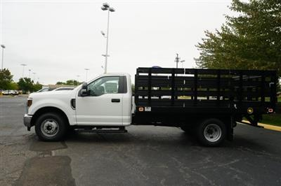 2019 F-350 Regular Cab DRW 4x2,  Knapheide Value-Master X Stake Bed #TX50066 - photo 3