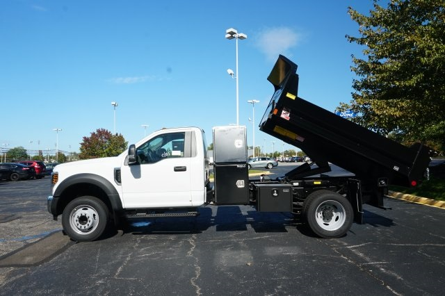 2019 F-450 Regular Cab DRW 4x2,  Monroe Dump Body #TX50076 - photo 8