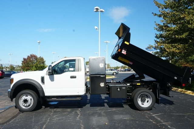 2019 F-450 Regular Cab DRW 4x2,  Monroe Dump Body #TX50076 - photo 9
