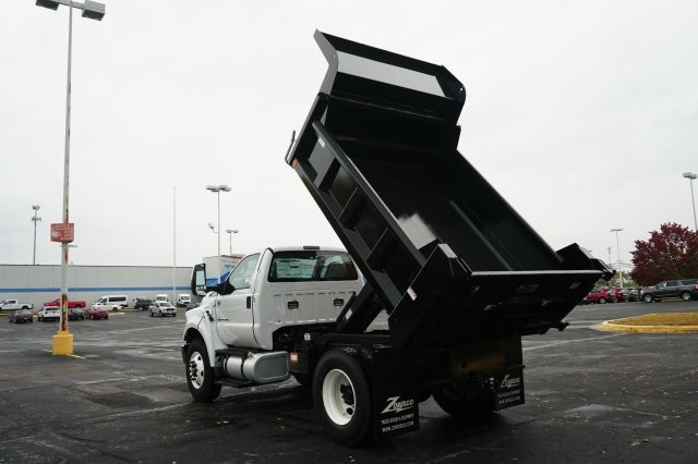 2019 F-750 Regular Cab DRW 4x2,  Rugby Dump Body #TX50110 - photo 13