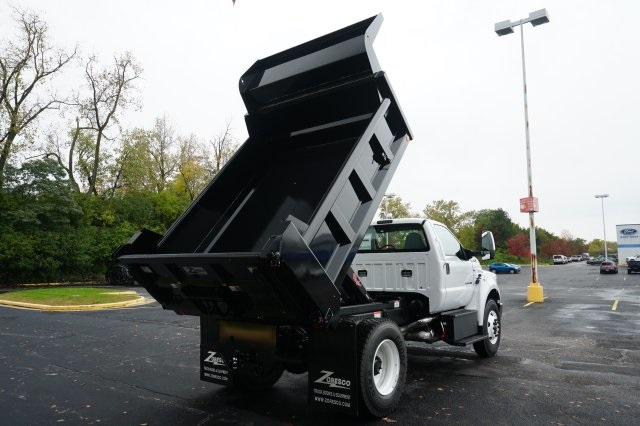 2019 F-750 Regular Cab DRW 4x2,  Rugby Dump Body #TX50110 - photo 15