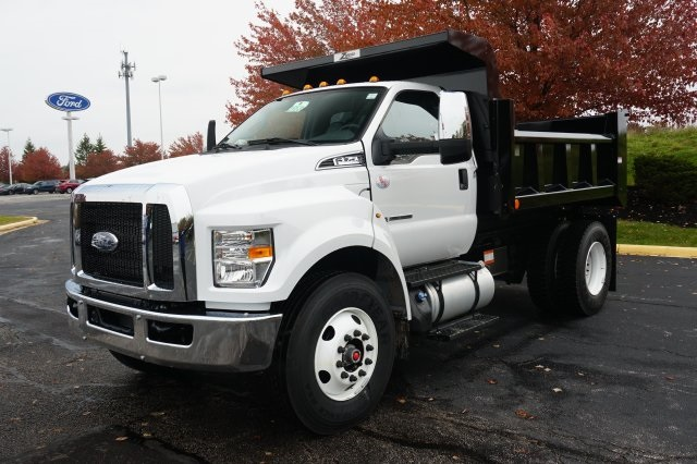 2019 F-750 Regular Cab DRW 4x2,  Rugby Dump Body #TX50110 - photo 4
