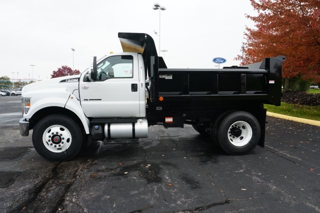 2019 F-750 Regular Cab DRW 4x2,  Rugby Dump Body #TX50110 - photo 5