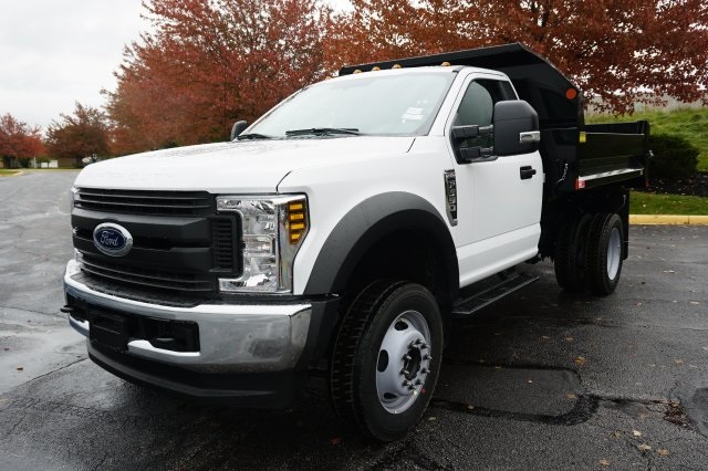 2019 F-550 Regular Cab DRW 4x4,  Monroe MTE-Zee Dump Body #TX50119 - photo 1