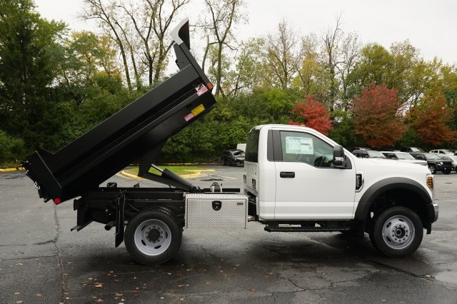 2019 F-550 Regular Cab DRW 4x4,  Monroe MTE-Zee Dump Body #TX50119 - photo 12