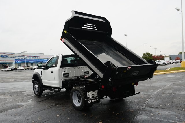 2019 F-550 Regular Cab DRW 4x4,  Monroe MTE-Zee Dump Body #TX50119 - photo 9