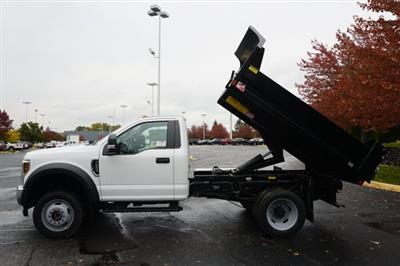 2019 F-550 Regular Cab DRW 4x4,  Monroe MTE-Zee Dump Body #TX50119 - photo 8