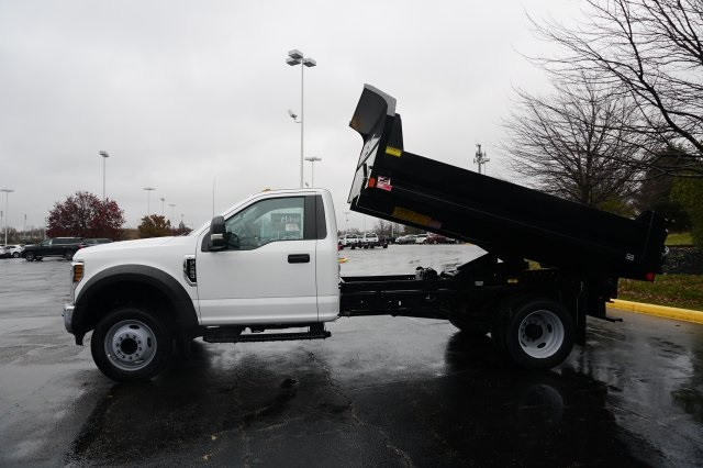 2019 F-450 Regular Cab DRW 4x2,  Monroe Dump Body #TX50194 - photo 3