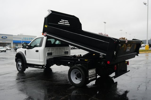 2019 F-450 Regular Cab DRW 4x2,  Monroe Dump Body #TX50194 - photo 2