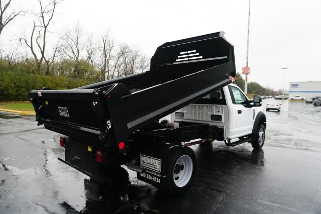 2019 F-450 Regular Cab DRW 4x2,  Monroe Dump Body #TX50194 - photo 5