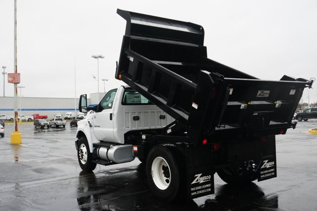 2019 F-750 Regular Cab DRW 4x2,  Rugby Dump Body #TX50195 - photo 11