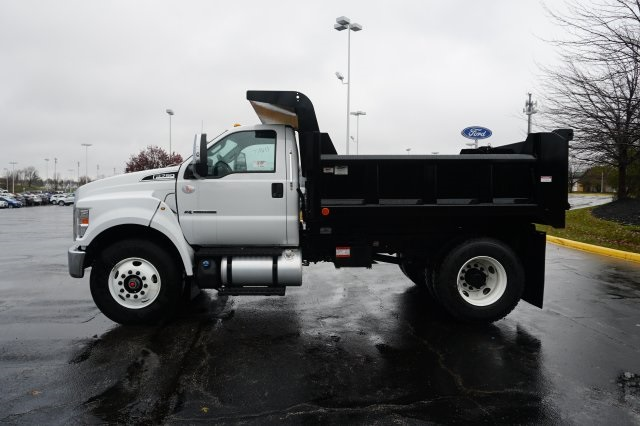 2019 F-750 Regular Cab DRW 4x2,  Rugby Dump Body #TX50195 - photo 4