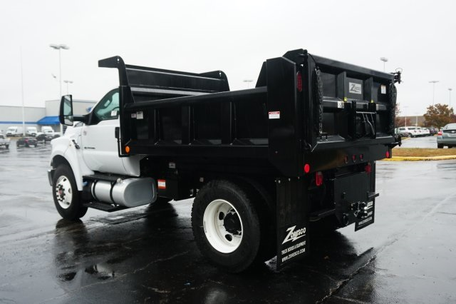 2019 F-750 Regular Cab DRW 4x2,  Rugby Dump Body #TX50195 - photo 2