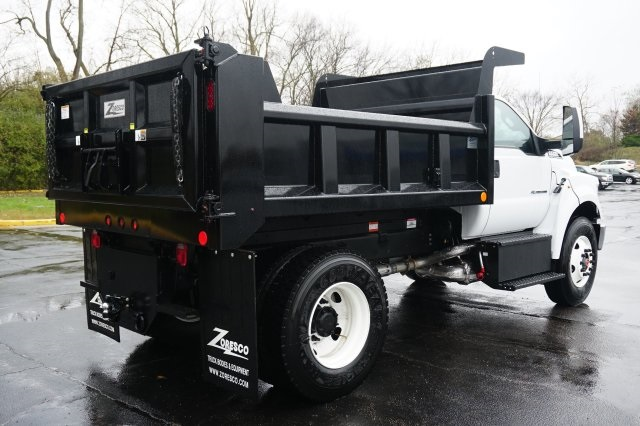 2019 F-750 Regular Cab DRW 4x2,  Rugby Dump Body #TX50195 - photo 6