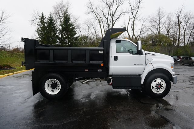 2019 F-750 Regular Cab DRW 4x2,  Rugby Dump Body #TX50195 - photo 7