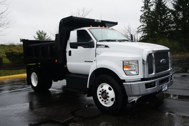 2019 F-750 Regular Cab DRW 4x2,  Rugby Dump Body #TX50195 - photo 8