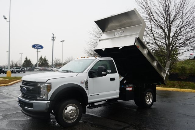 2019 F-550 Regular Cab DRW 4x4,  Rugby Dump Body #TX50201 - photo 13
