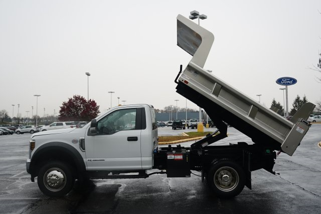 2019 F-550 Regular Cab DRW 4x4,  Rugby Eliminator LP Stainless Steel Dump Body #TX50201 - photo 14