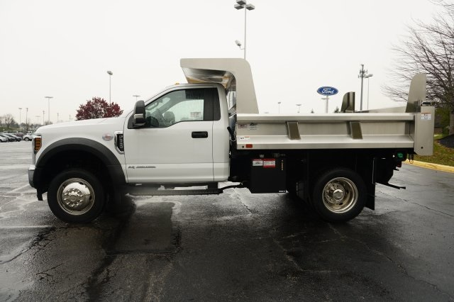 2019 F-550 Regular Cab DRW 4x4,  Rugby Dump Body #TX50201 - photo 3