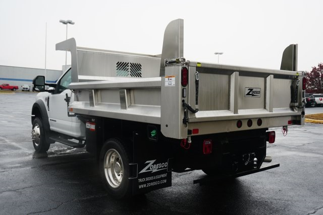 2019 F-550 Regular Cab DRW 4x4,  Rugby Dump Body #TX50201 - photo 2