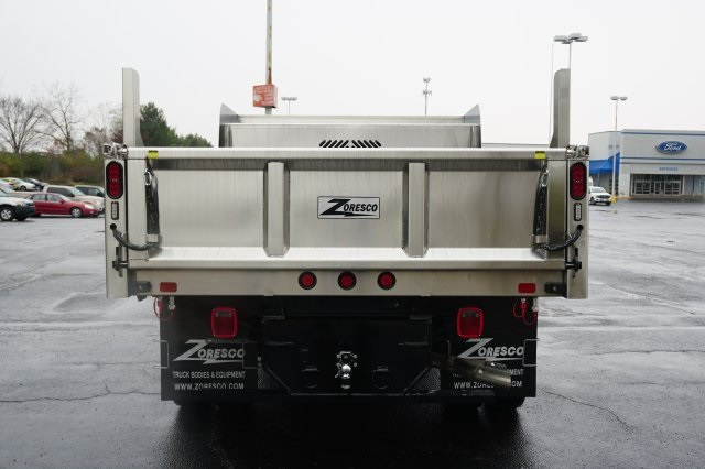 2019 F-550 Regular Cab DRW 4x4,  Rugby Dump Body #TX50201 - photo 4