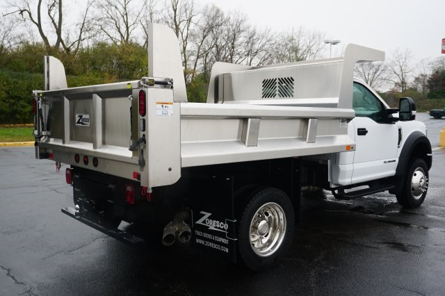2019 F-550 Regular Cab DRW 4x4,  Rugby Dump Body #TX50201 - photo 6