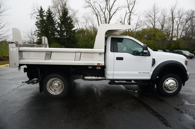 2019 F-550 Regular Cab DRW 4x4,  Rugby Dump Body #TX50201 - photo 7