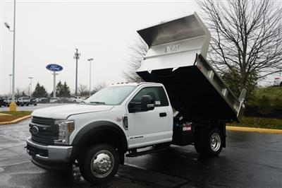2019 F-550 Regular Cab DRW 4x4,  Rugby Eliminator LP Stainless Steel Dump Body #TX50201 - photo 13
