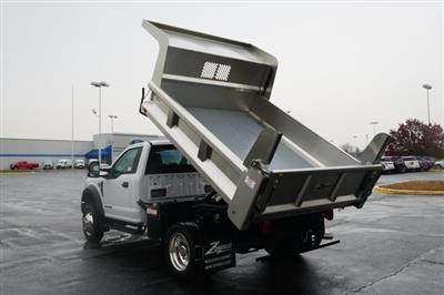 2019 F-550 Regular Cab DRW 4x4,  Rugby Eliminator LP Stainless Steel Dump Body #TX50201 - photo 15