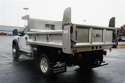 2019 F-550 Regular Cab DRW 4x4,  Rugby Eliminator LP Stainless Steel Dump Body #TX50201 - photo 2