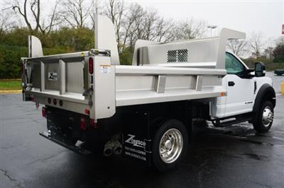 2019 F-550 Regular Cab DRW 4x4,  Rugby Eliminator LP Stainless Steel Dump Body #TX50201 - photo 6