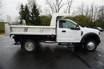 2019 F-550 Regular Cab DRW 4x4,  Rugby Eliminator LP Stainless Steel Dump Body #TX50201 - photo 7