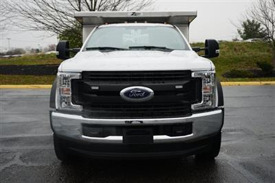2019 F-550 Regular Cab DRW 4x4,  Rugby Eliminator LP Stainless Steel Dump Body #TX50201 - photo 8