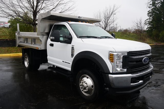 2019 F-550 Regular Cab DRW 4x4,  Rugby Dump Body #TX50202 - photo 10