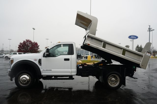 2019 F-550 Regular Cab DRW 4x4,  Rugby Dump Body #TX50202 - photo 14
