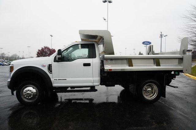 2019 F-550 Regular Cab DRW 4x4,  Rugby Dump Body #TX50202 - photo 3