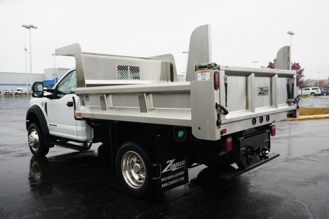 2019 F-550 Regular Cab DRW 4x4,  Rugby Dump Body #TX50202 - photo 2