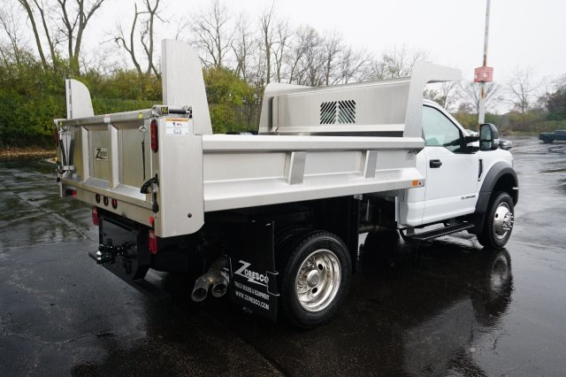 2019 F-550 Regular Cab DRW 4x4,  Rugby Dump Body #TX50202 - photo 8