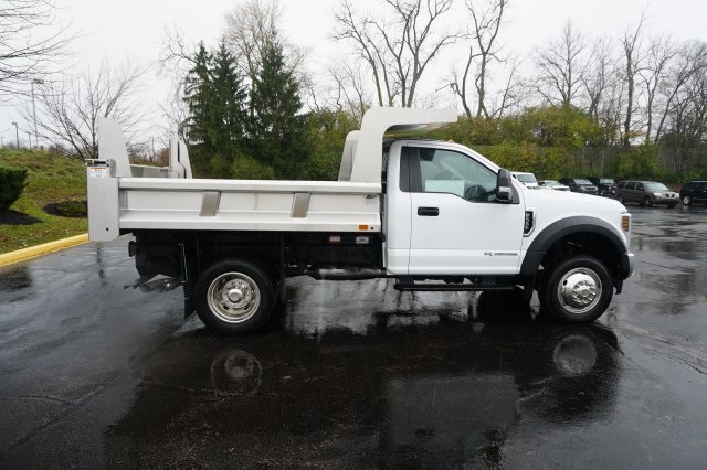 2019 F-550 Regular Cab DRW 4x4,  Rugby Dump Body #TX50202 - photo 9