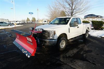 2019 F-250 Super Cab 4x4,  Western Snowplow Pickup #TX50225 - photo 1