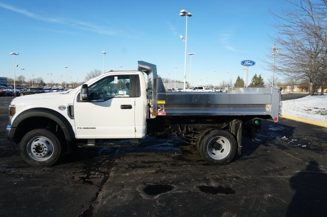2019 F-550 Regular Cab DRW 4x4,  Monroe Dump Body #TX50246 - photo 3